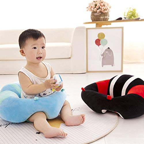 Creative 0-2y Kid Baby Support Seat Sofa Sitting Chair Cushion Infant Soft Plush Lounger Learning To Sit Posture Pillow Travel Car Seat Furniture