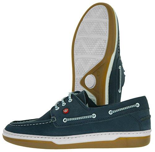 Beppi Herren Lederschuhe | Schuhe Bequem Weich | Business-Schuhe Made in Portugal | Männer Bootsschuhe Freizeitschuhe Lederhalbschuhe | 40-45 Navy