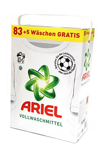 Ariel Vollwaschmittel Actilift Regular Pulver 5,72 kg 83 + 5 Wäschen (88WL)...