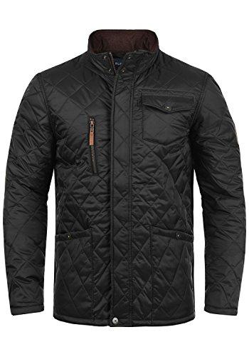 Blend Camilo Herren Steppjacke Übergangsjacke Jacke mit Stehkragen, Größe:M, Farbe:Black (70155)