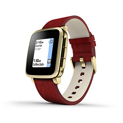 GeschenkIdeen.Haus - Pebble Time Steel - Smart Watch