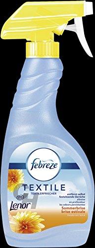 Febreze Textilerfrischer Sommerbrise Lenor 500ml Sprühflasche ( 2er Pack )