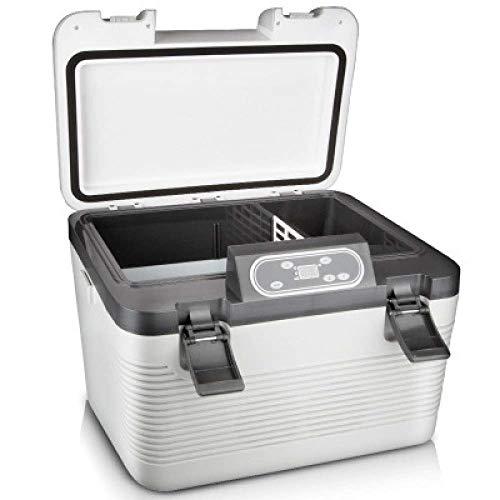 iCool 19L Autokühler Kompressor Gefrierschrank-Elektrische Kühlbox Camping Kühlschrank 24 V / 12 V / 220-240 V Mini Kühlschrank für Sport im Freien Home Tour Travel Camping Picknicks