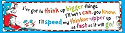 Eureka Dr. Seuss Think Up Bigger Things Banner