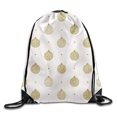fengxutongxue Pineapple Shaped Ball Drawstring Backpack Travel Bag Gym Outdoor Sports Portable Drawstring Beam Port Backpack for Girl Boys Woman Female