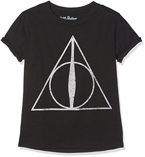 Harry Potter Girl's Deathly Hallows Symbol T-Shirt