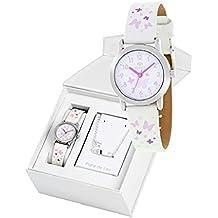 Conjunto reloj marea niña b35284 4 y nomeolvides plata ... bc104961981e