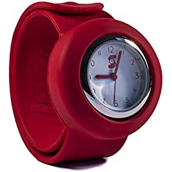 Original Slappie Simply Red Slap Watch (BBC Dragons Den Winner) Adults/Kids Size Small