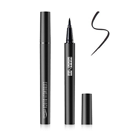 Eyeliner Wasserdicht-Gel Super Liquid Liner Perfect Slim Langanhaltenden Schwarz Flüssig Eyeliner