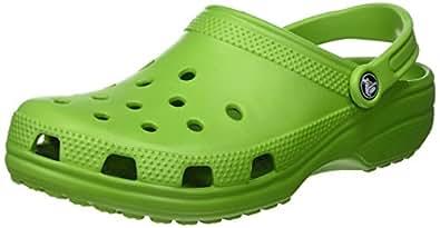 Crocs Classic, Zoccoli E Sabot Unisex Adulto, Verde (Parrot Green), 36/37 EU
