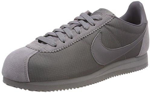 Nike Herren Classic Cortez Nylon Gymnastikschuhe, Grau Gunsmoke/White 009, 45 EU