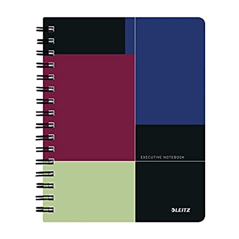 Leitz Executive A5 Ruled Notebook with 80 Sheets