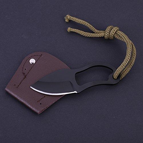 Handfly Pocket Mini Tragbare Messerklaue Karambit Messer Werkzeug Camping Outdoor Spaziergang Gadget Messer Überleben Selbstschutz