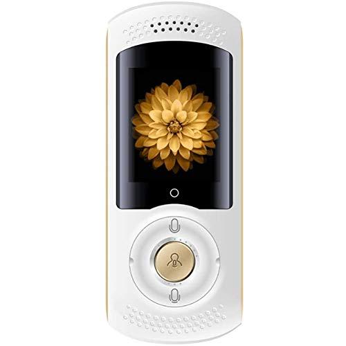 LXYFMS Übersetzungsausrüstung 45 Sprachübersetzung Für Unternehmen Lernen Reisen Einkaufen Tragbares WiFi Echtzeitübersetzung HD Touchscreen Übersetzer (Color : White)