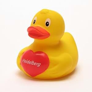 duckshop i badeente heidelberg i quietscheente i l 7 5 cm baby. Black Bedroom Furniture Sets. Home Design Ideas