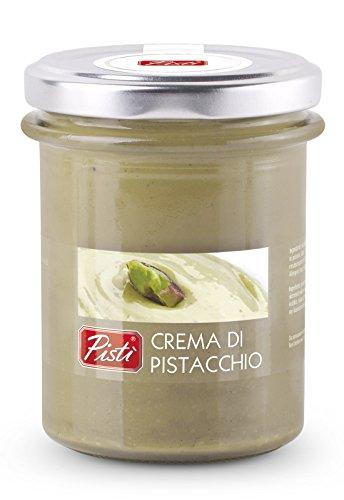 Crema spalmabile magnum di pistacchio preparata con il 45% di pistacchi di sicilia e olio d'oliva extravergine -  vaso da 200 g