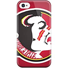 For Iphone 4/4s Tpu Phone Case Cover(artistic Florida State Seminoles Logo Iphon S)