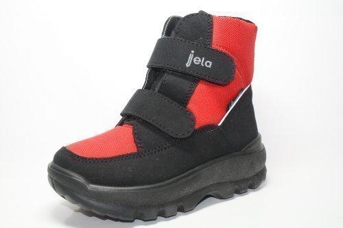 Jela - Chaussures Jela Enfants & Bottes 21532 filles moitié Stiefele Noir (noir / cerise 21)