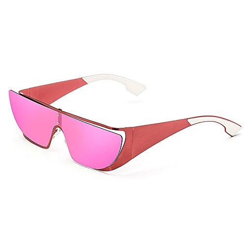 GZW001 Polarisierte Sonnenbrillen der Männer Heiße Mode-Gläser für das Fahren im Freien Fischen Golf , Metallrahmen (Color : RED)
