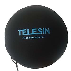 """TELESIN Black Protect Cover Hood Neoprene Bag for TELESIN 6"""" Dome Port"""