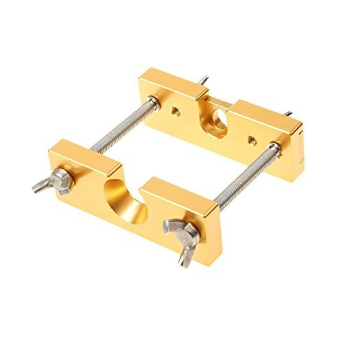 """Jinhui Direct Professionelles Mundstück Abzieher Werkzeug verstellbares Mundstück Entferner 11x 10cm Vier Farben für gewähltes Total Size :11 x 10 x 3.5cm/4.33\"""" x 3.94\"""" x 1.38\"""" Gold"""