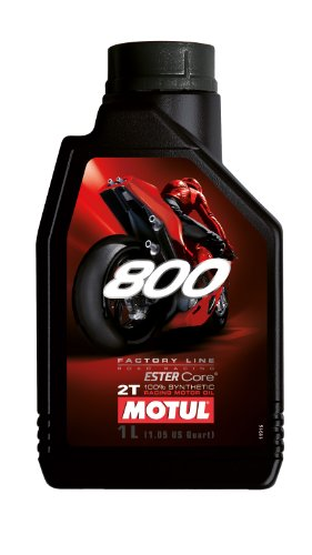 Motul 104041 800 2T Factory Line Road Racing, 1 L