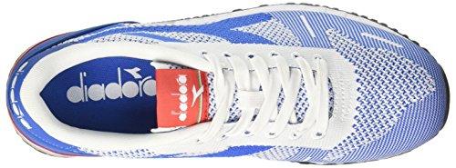 Diadora Titan Weave, Sneaker Bas du Cou Mixte Adulte Bleu (Blu Mediterraneo)