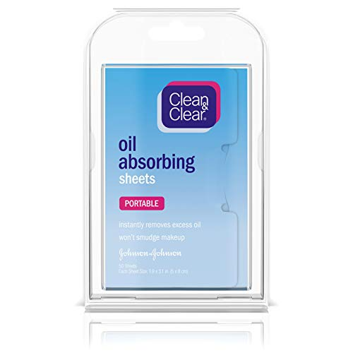 Clean & Clear U-BB-1685 Oil Absorbing Sheets by Clean & Clear for Unisex - 50 Pc Sheets -