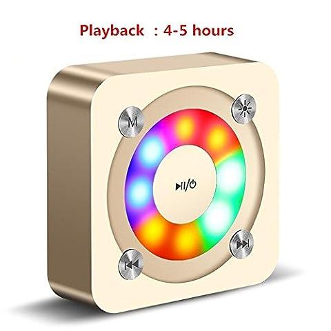 Plastik mini drahtloser Bluetooth Lautsprecher Beweglicher Stereos intelligenter drahtloser bluetooth Mit freihändigem MIC / für alle Telefone , (Cabinet Grille)