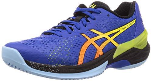 Asics Mens 1051A031-400_42.5 Volleyball Shoes, Blue Sour Yuzu
