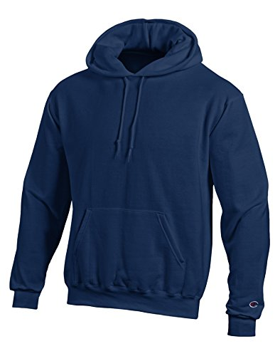 Champion Double Dry Men`s Action Fleece Pullover Hood blu navy Medium