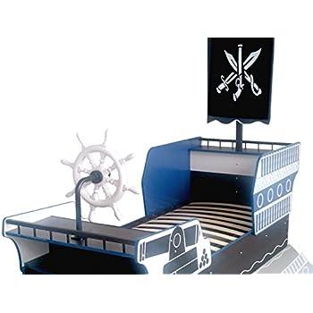 piratenbett piratenschiff kinderbett seer uber bett jugendbett abenteuerbett kinderzimmer. Black Bedroom Furniture Sets. Home Design Ideas