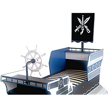piratenbett piratenschiff kinderbett seer uber bett. Black Bedroom Furniture Sets. Home Design Ideas