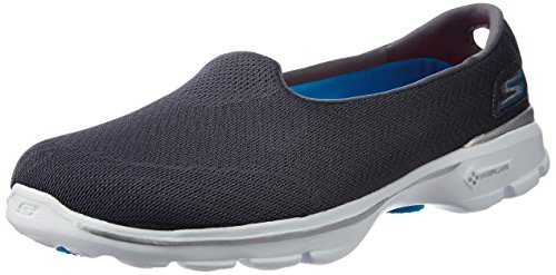 Skechers Go Walk 3 insight, Sneakers basses femme CHAR