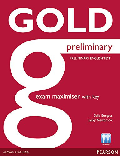 Gold Preliminary Maximiser with Key