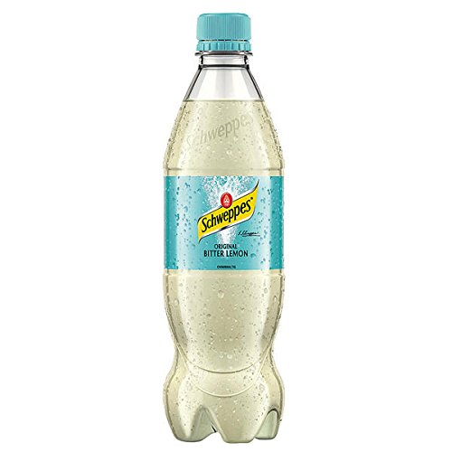 Schweppes Bitter Lemon 24 x 0,5l Flasche inkl. 6€ EINWEG Pfand
