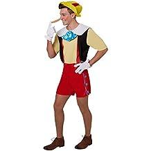 Rubie 's–Disfraz de oficial de Disney pinocho adultos tamaño estándar