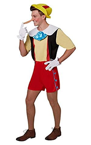 Adultes Disney Costumes - Rubie's Disney Pinocchio Costume adulte de taille