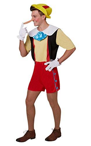 Disney Pinocchio-Kostüm für Erwachsene-Standard ()