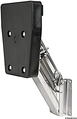 Supporto motore ribalta 7 HP English: SS outboard bracket 7HP fold.