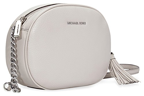 MICHAEL by Michael Kors Ginny Cement Medium Crossbody Borsa Cement