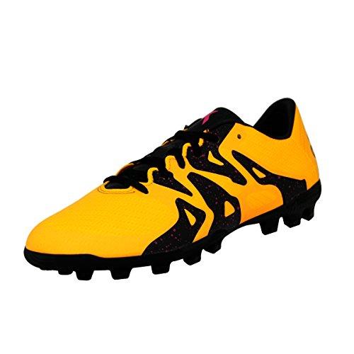 adidas X 15.3 AG J, Chaussures de Football Mixte Bébé Multicolore - Amarillo / Negro / Rosa (Dorsol / Negbas / Rosimp)