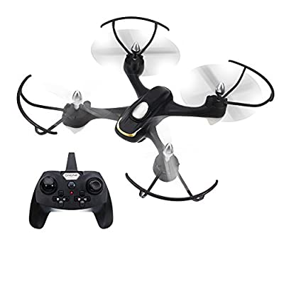 EACHINE Quadcopter Drone With 2.0 MP HD Camera, E33C 2.4G 6 Axis Headless Mode One Key Return RC Quadcopter RTF from Aeiolw