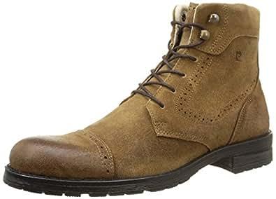 Pierre Cardin 221774, Chaussures hautes homme, Marron (Croûte/Taupe), 42 EU