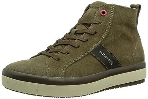 Tommy Hilfiger STACY 1B, Damen Hohe Sneakers, Braun (CUB 219),