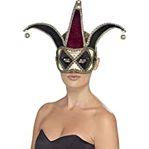 Smiffy's - Gótico veneciano harlequin máscara de ojos (27653)