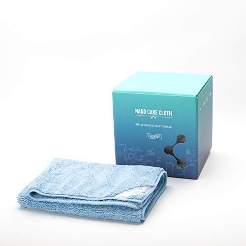 NanoCare Nano Towel Eco Tuchhandtücher, die praktisch jede mögliche Oberfläche mit nur Wasser 14 x 14 Zoll säubern Grün