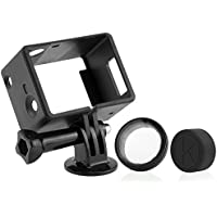 CamKix kompatible Rahmenhalterung für GoPro Hero 4 Black und Silver, 3 und 3+ - USB, HDMI und SD-Steckplätze voll zugänglich - Leichtes und kompaktes Gehäuse für Ihre Kamera