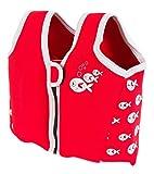 SwimBest Swim Jacket - Red Fish-5-7 yrs