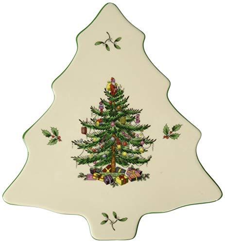Spode Weihnachtsbaum Christmas Tree Trivet Serveware Accessory mehrfarbig